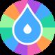 Raining.fm orb logo